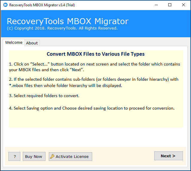 Import MBOX to Windows 10 Web Mail App - Know How?