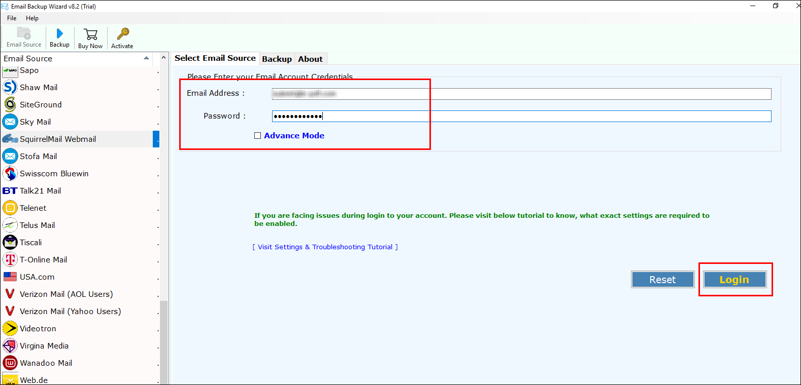 SquirrelMail to Zimbra Migration – Export SquirrelMail Emails to