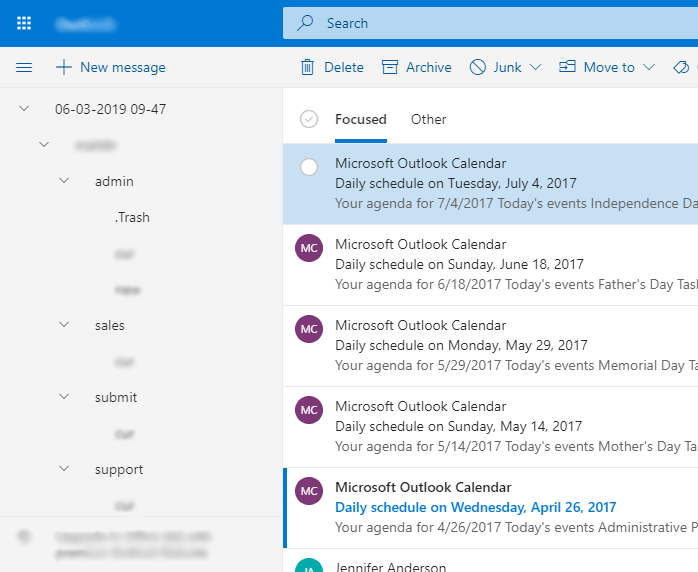 converted office 365